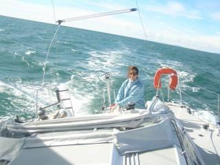 Primera navegada (Port Camargue)